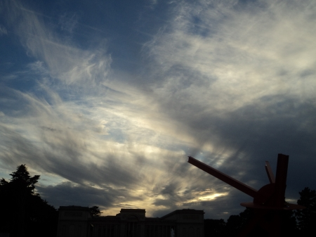 Clouds in a San Francisco sky